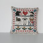 Amish Cross-Stitch Pincushion